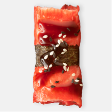 surimi nigiri sushi