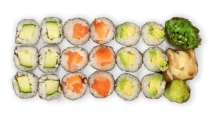 pieni sushi setti
