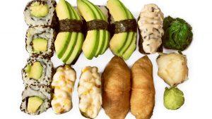 lohi avokado sushi setti