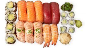 lohi sushi setti