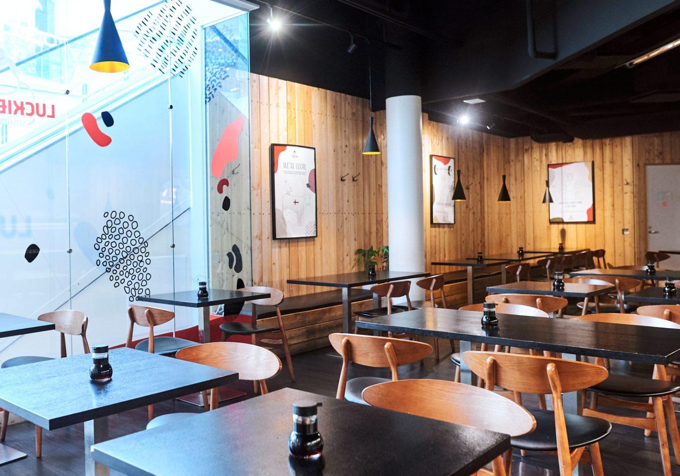 Sushi buffet Koskikeskus