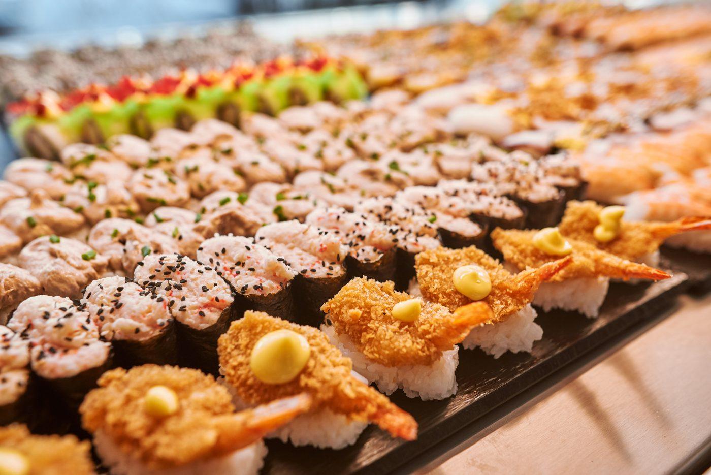 Sushi buffet Leppävaara