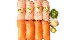 salmon date sushisetti