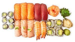 sashmini sushi setti