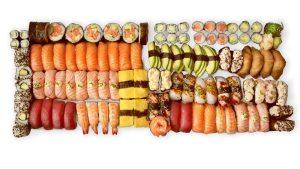 tasting sushi setti