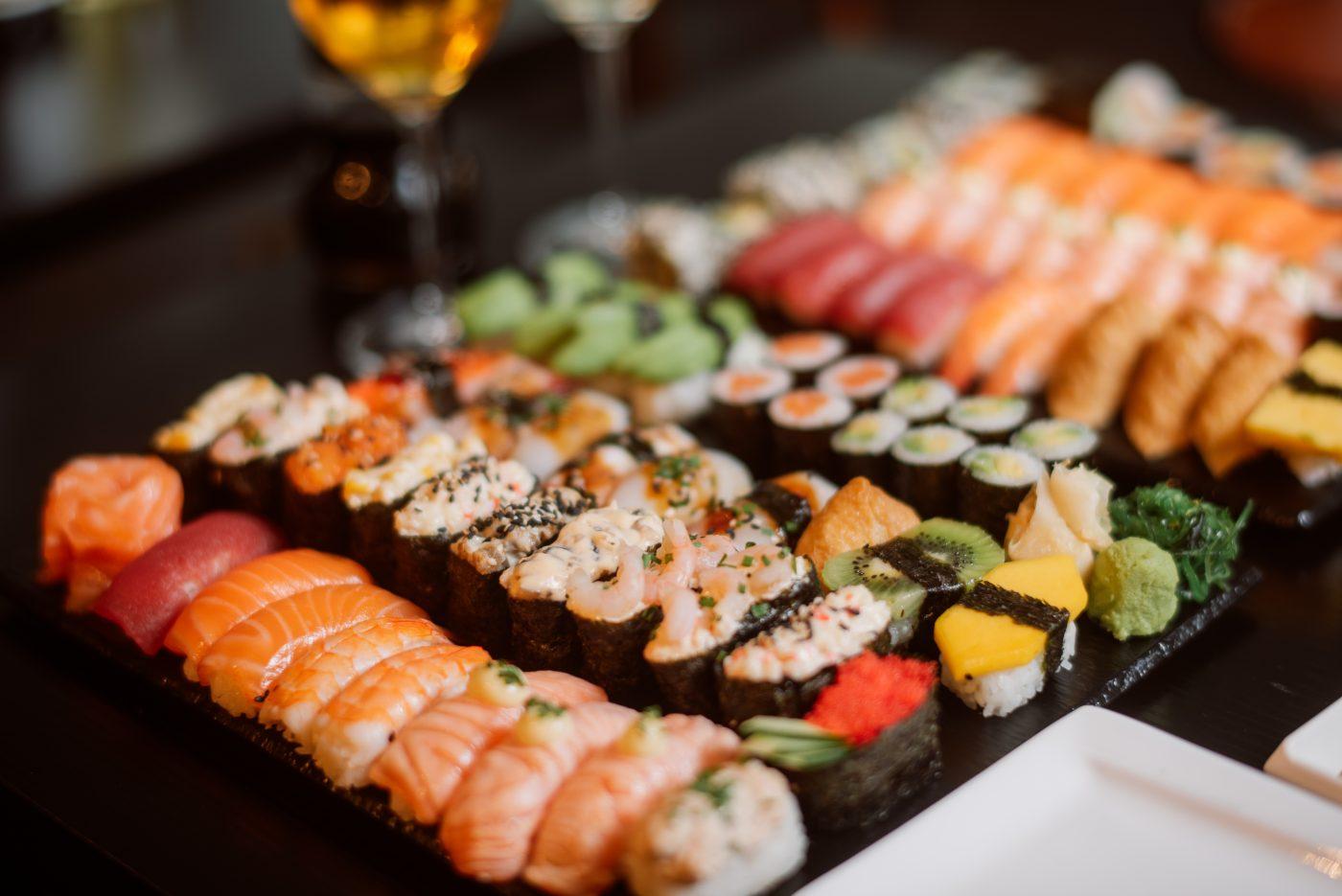 Sushi buffet Oulu Kirkkokatu